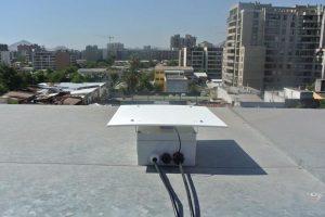 Smartphone instalado en Santiago. Foto:Gentileza. Imagen Por:
