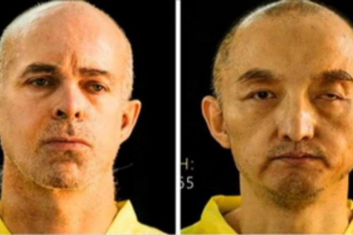 Los terroristas muestran las fotografías de los supuestos cadáveres de los prisioneros: Ole Johan Grimsgaard-Ofstad, de 48 años, y el chino Fan Jinghui, de 50 Foto:Reproducción. Imagen Por: