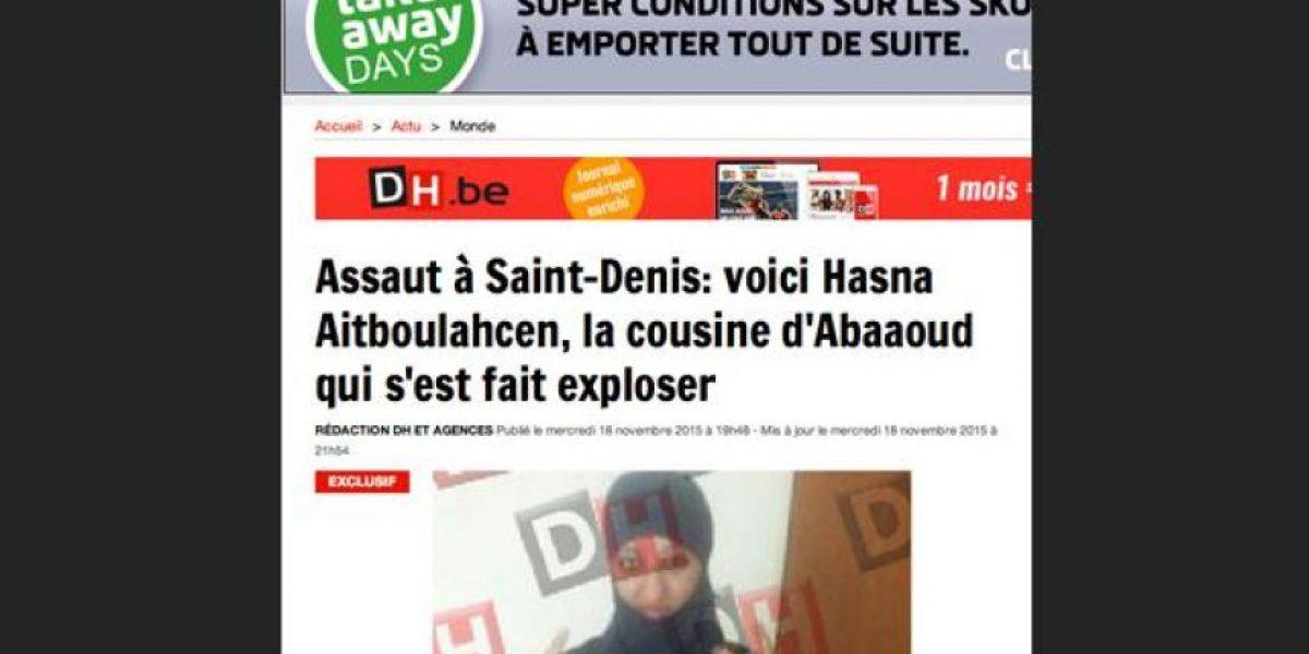 Hasna Aitboulahcen: la primera mujer kamikaze en Europa