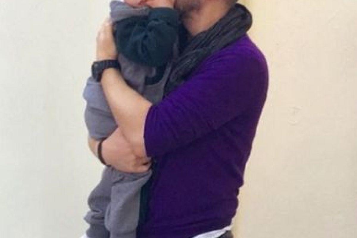 Ahora tiene una hija de la panameña Gwendolyn Stevenson, su nombre es Emma. Foto:vía instagram.com/noelschajris. Imagen Por: