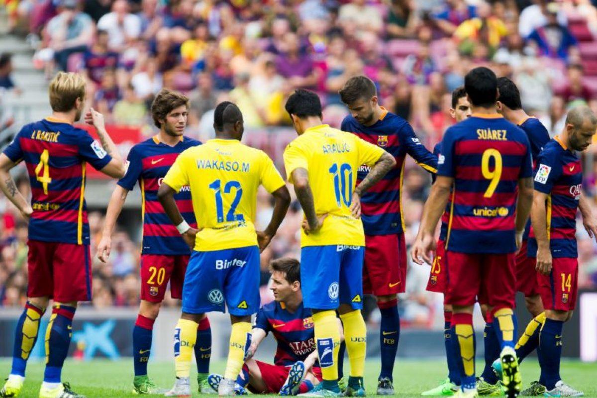Messi se lesionó el pasado 20 de septiembre Foto:Getty Images. Imagen Por: