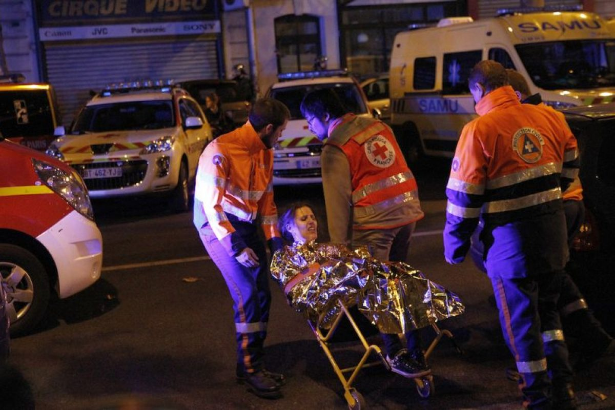 Hollande señaló que estaba en guerra contra el terrorismo. Foto:Getty Images. Imagen Por: