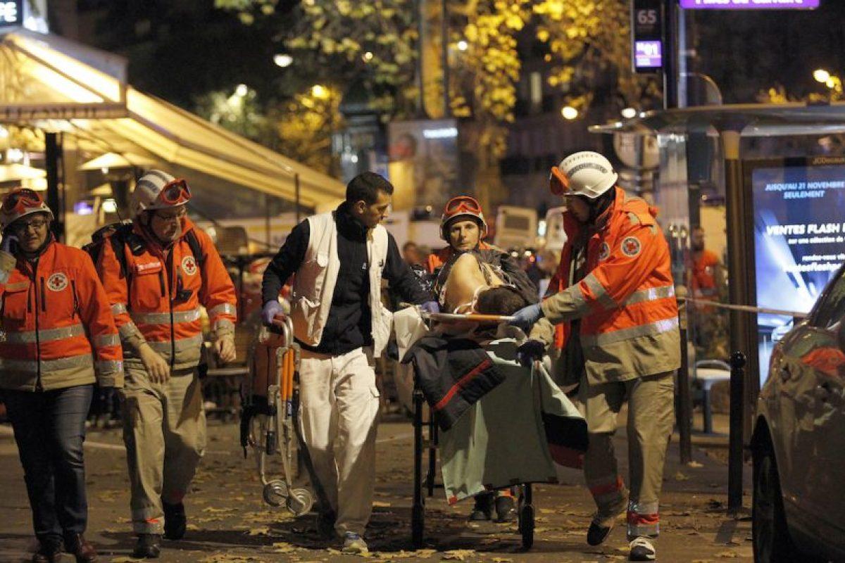 Francia sufrió los peores atentados en el país desde la Segunda Guerra Mundial. Foto:Getty Images. Imagen Por: