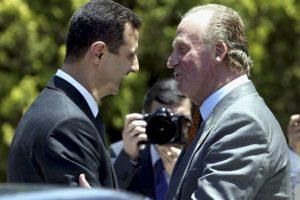 Con el Rey Juan Carlos de España, en 2004 Foto:Getty Images. Imagen Por: