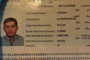 Las autoridades serbias ya detuvieron al presunto dueño del otro pasaporte. Foto:Vía Twitter @EdThomas76. Imagen Por: