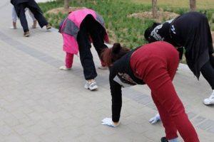 Aquí el ejercicio que se está haciendo viral. Foto:Vía Twitter. Imagen Por: