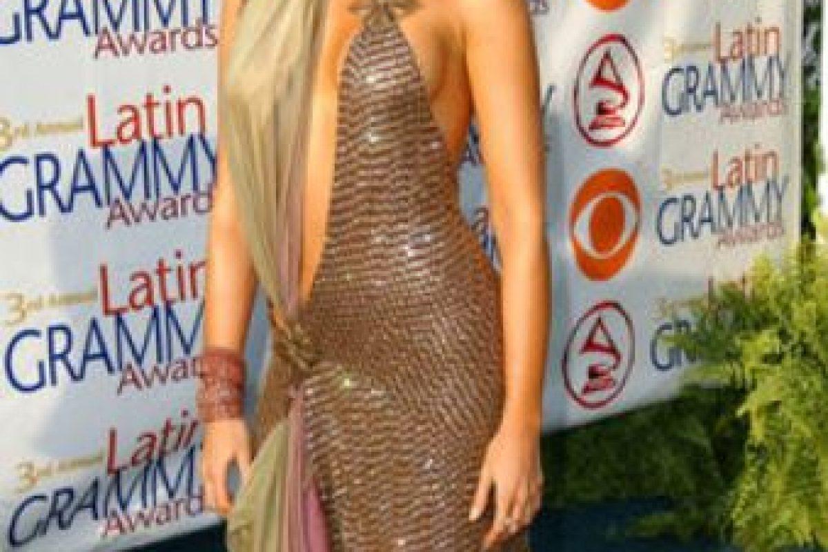 """Sissi Fleitas usó un vestido perdedor de una de las pruebas de """"Project Runway"""". Así salió a la alfombra roja. Foto:vía Getty Images. Imagen Por:"""