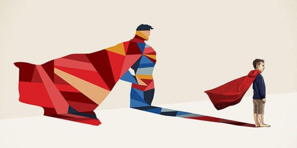 ¡Qué lindo! Artista convierte a niños en superhéroes