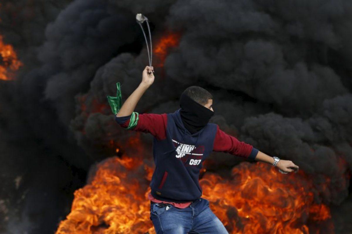 Conflicto entre israelíes y palestinos Foto:AFP. Imagen Por: