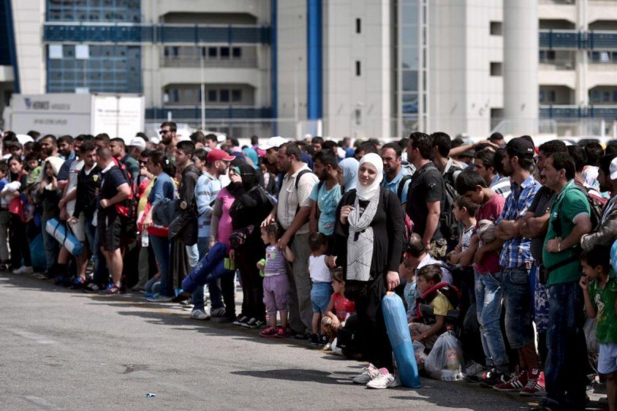 1. Según la Organización Internacional para las Migraciones (OIM), en lo que va de año han muerto tres mil 511 personas en la ruta del Mediterráneo. Foto:AFP. Imagen Por: