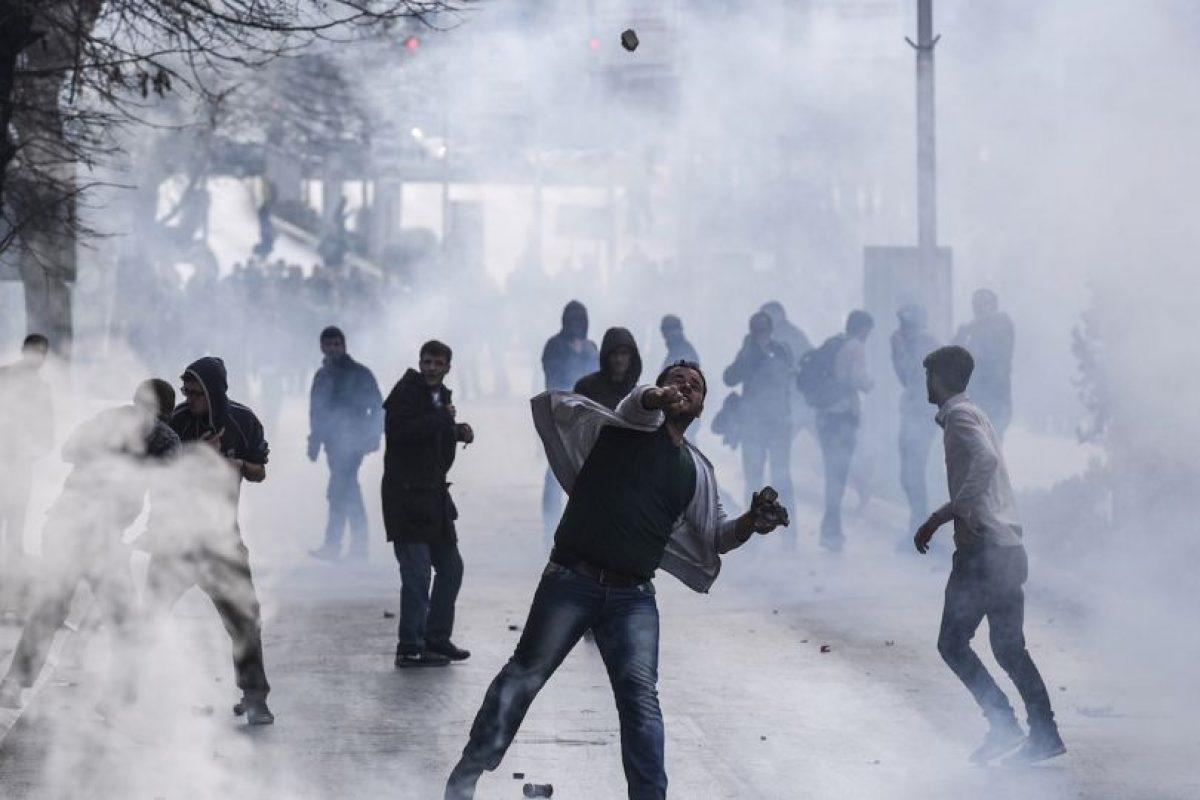 Protestas en Kosovo Foto:AFP. Imagen Por:
