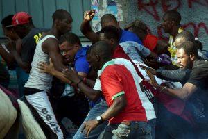 Protestas en Haití contra el Consejo Electoral Provisional (CEP). Foto:AFP. Imagen Por: