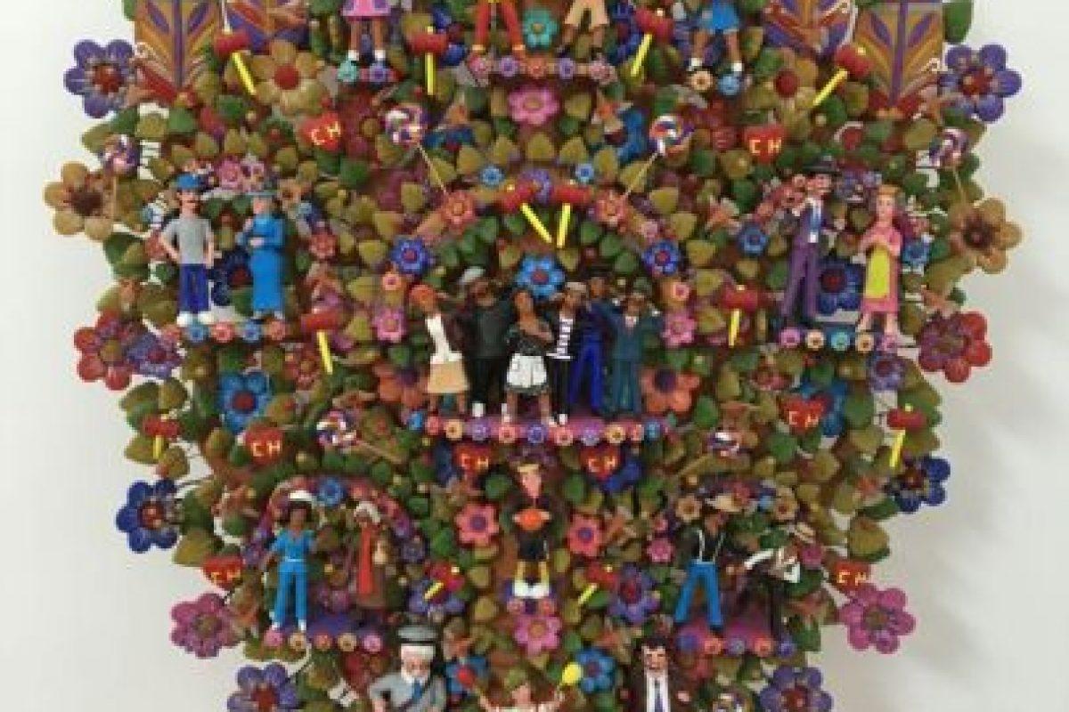 Árbol de la vida con todos los personajes. Foto:Nicolás Corte. Imagen Por: