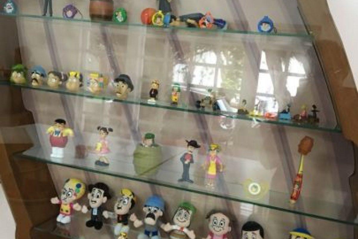 """Juguetes de """"El Chavo"""". Foto:Nicolás Corte. Imagen Por:"""