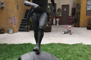 "La estatua de ""El Chavo"". Foto:Nicolás Corte. Imagen Por:"
