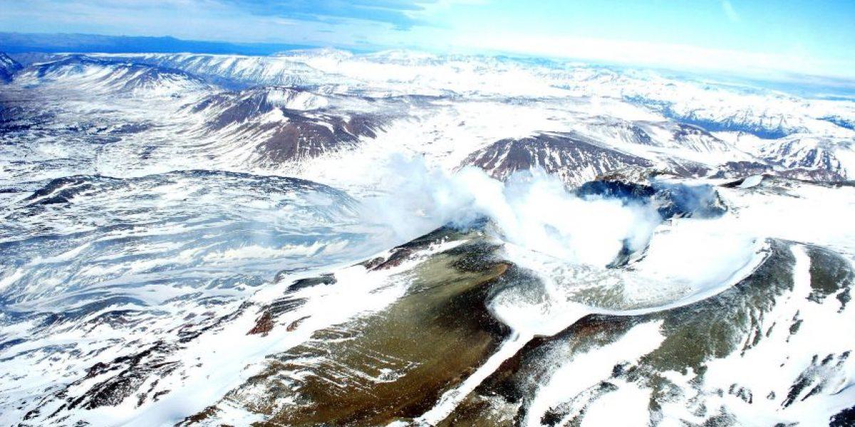 Sernageomin confirma aumento de la actividad del volcán Copahue