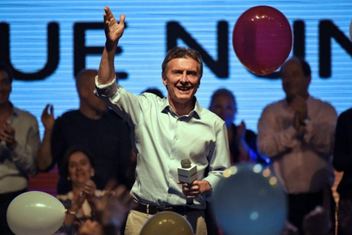 Mauricio Macri es el favorito para estas elecciones. Foto:AFP. Imagen Por: