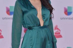 Jamillette Gaxiola dejó poco a la imaginación con este vestido verde Foto:Getty Images. Imagen Por: