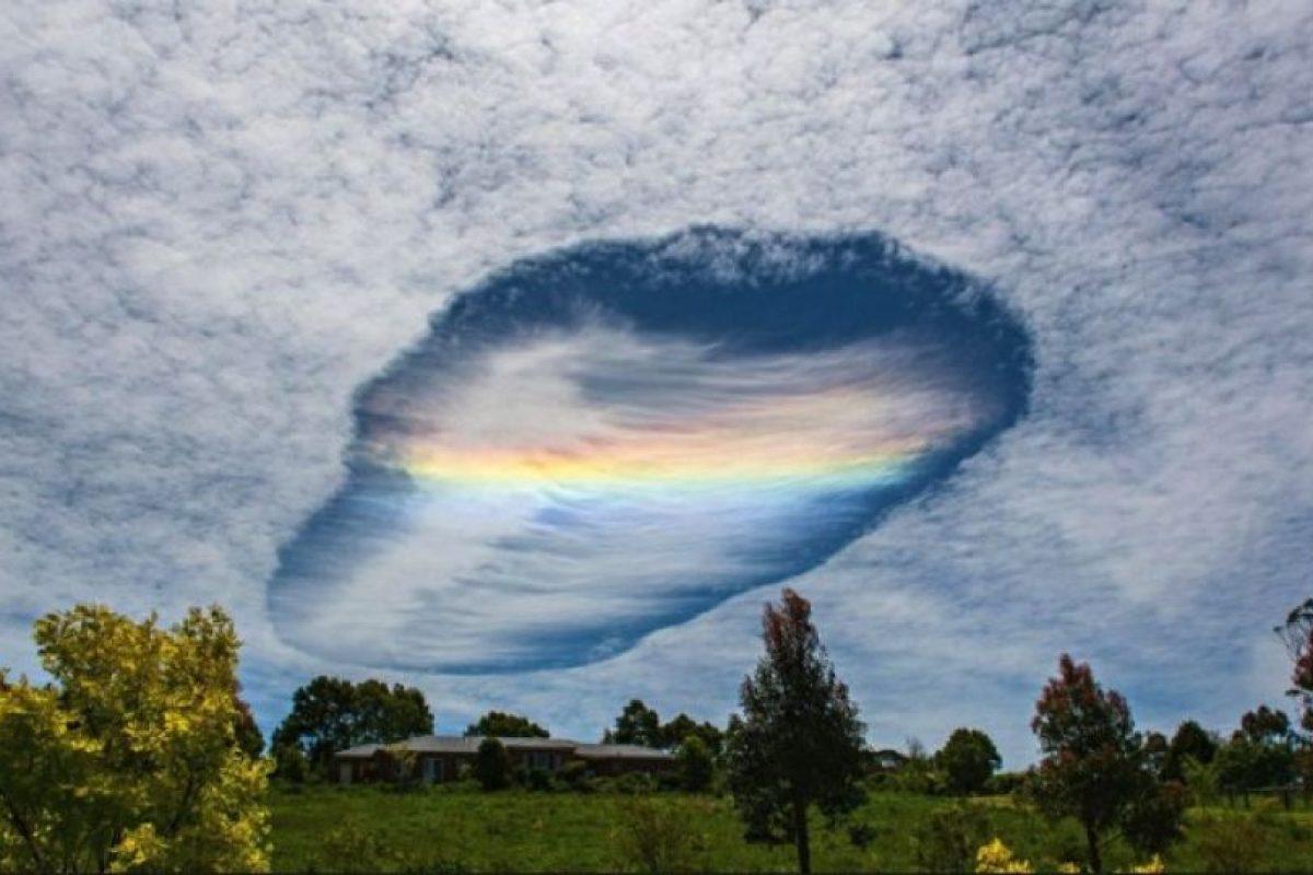 1. Así se vio la nube en Australia hace unas semanas Foto:Imgur.com/gallery/1lN62mo. Imagen Por: