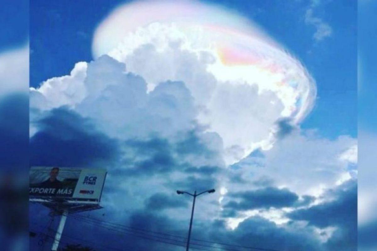 6. Extraña nube vista en Costa Rica Foto:Instagram @roupolimama. Imagen Por: