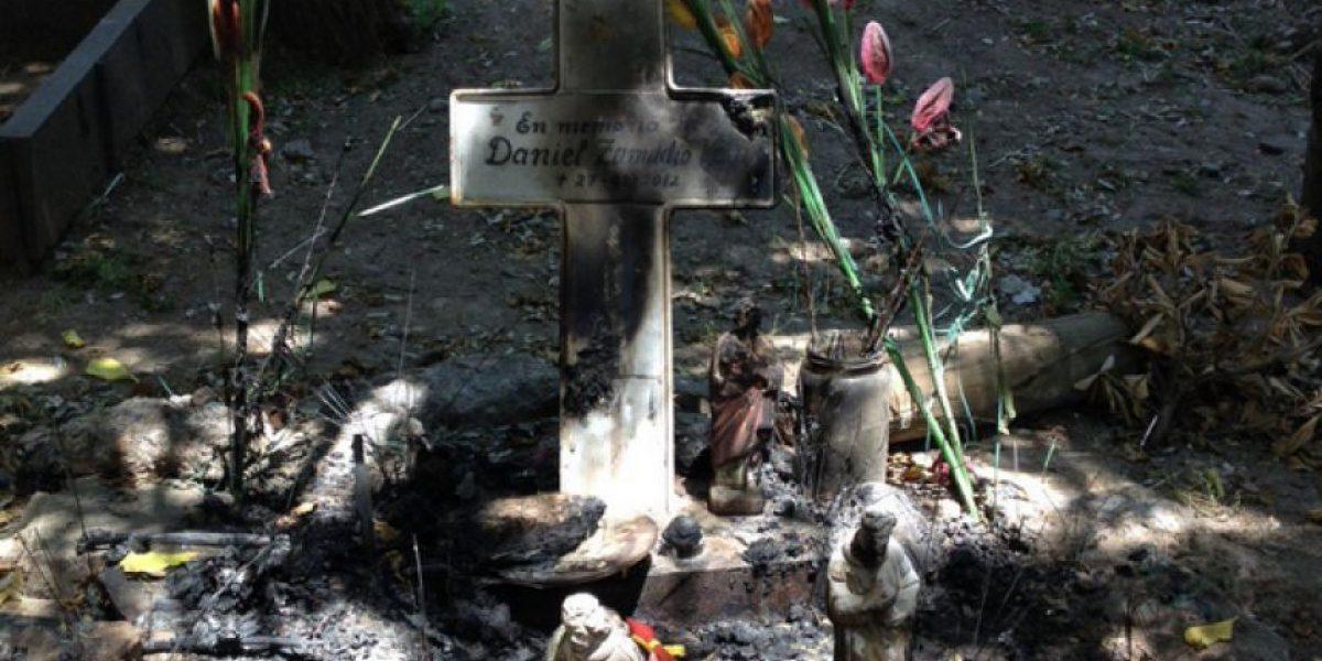 Memorial de Daniel Zamudio en Parque San Borja sufre violento ataque