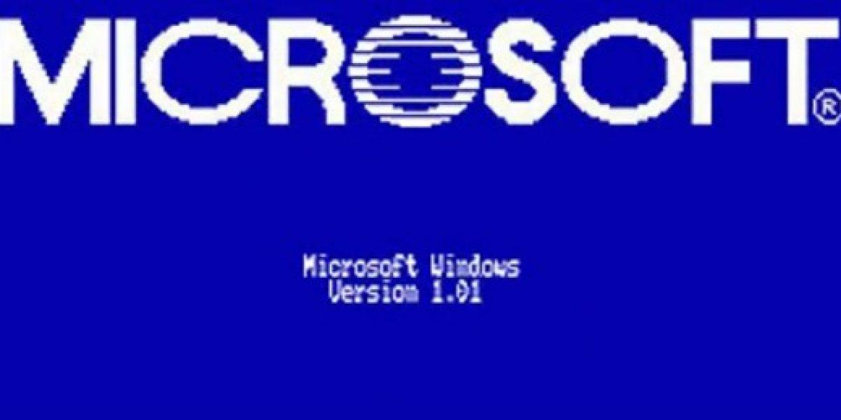 Hoy se cumplen 30 años desde el lanzamiento del primer Windows de Microsoft