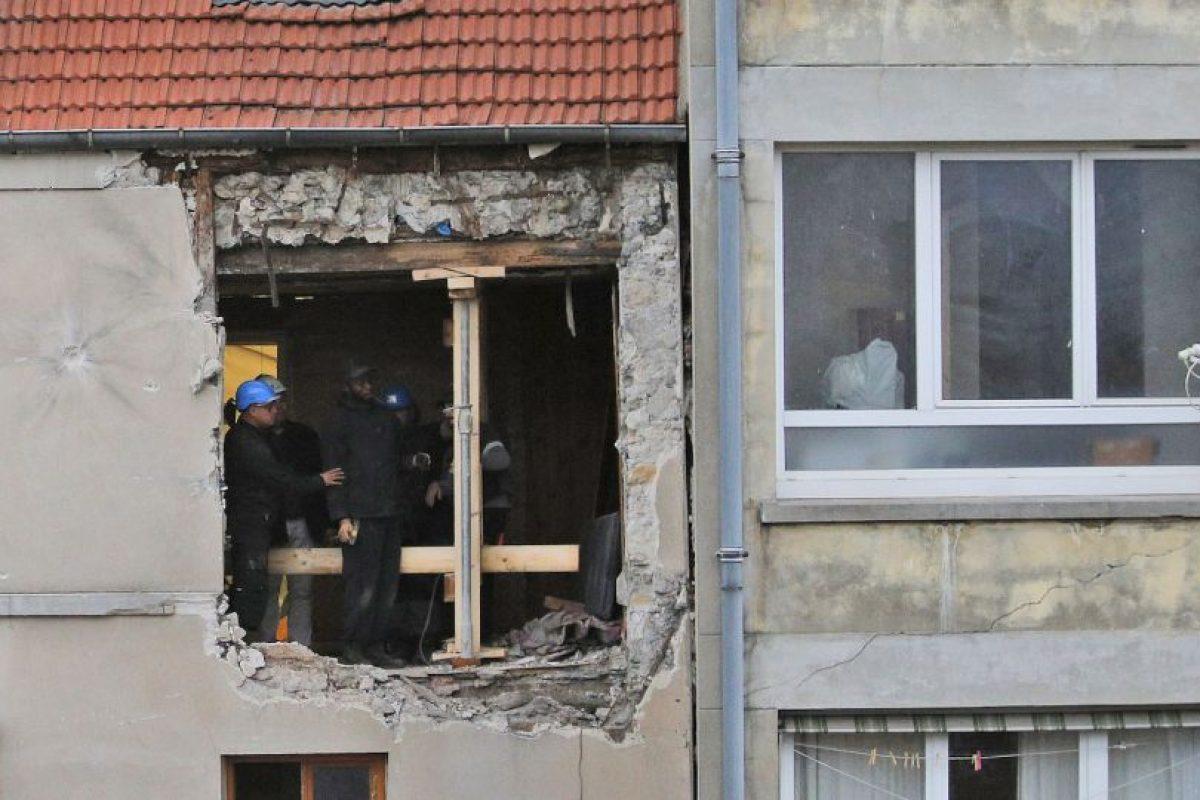 Así quedo la estructura tras la detonación de los explosivos de Hasna Aitboulahcen. Foto:AP. Imagen Por: