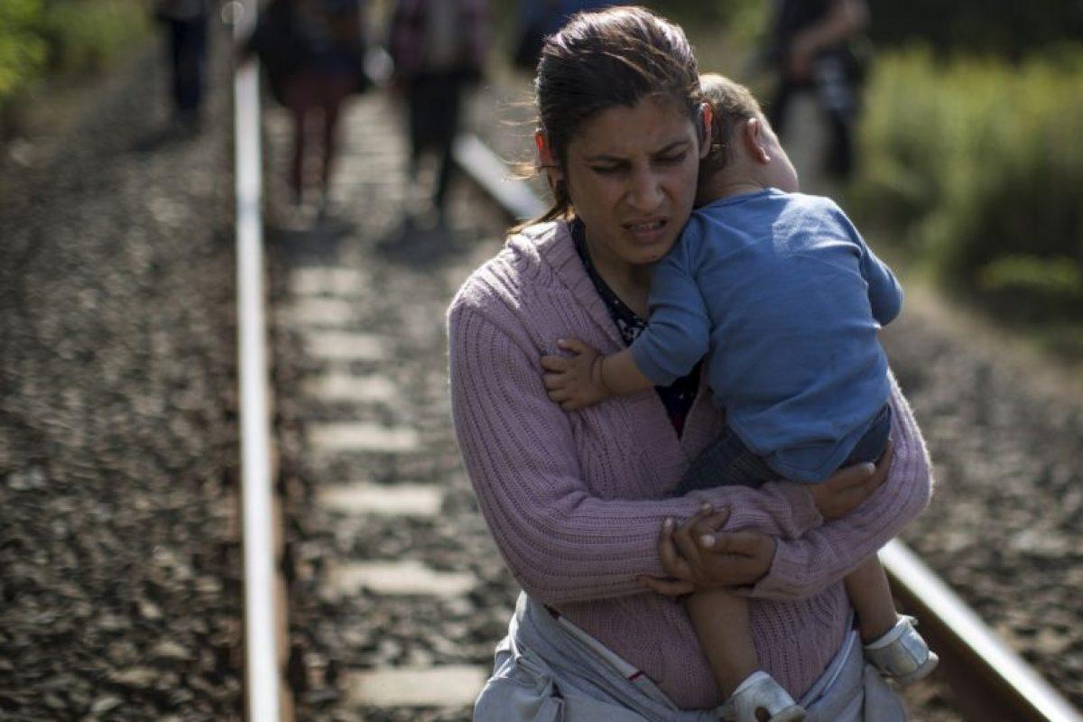 """6. El Alto Comisionado de las Naciones Unidas para los Refugiados (ACNUR), António Guterres, declaró que es """"absolutamente absurdo"""" intentar culpar a los refugiados por los ataques terroristas. Foto:Getty Images. Imagen Por:"""