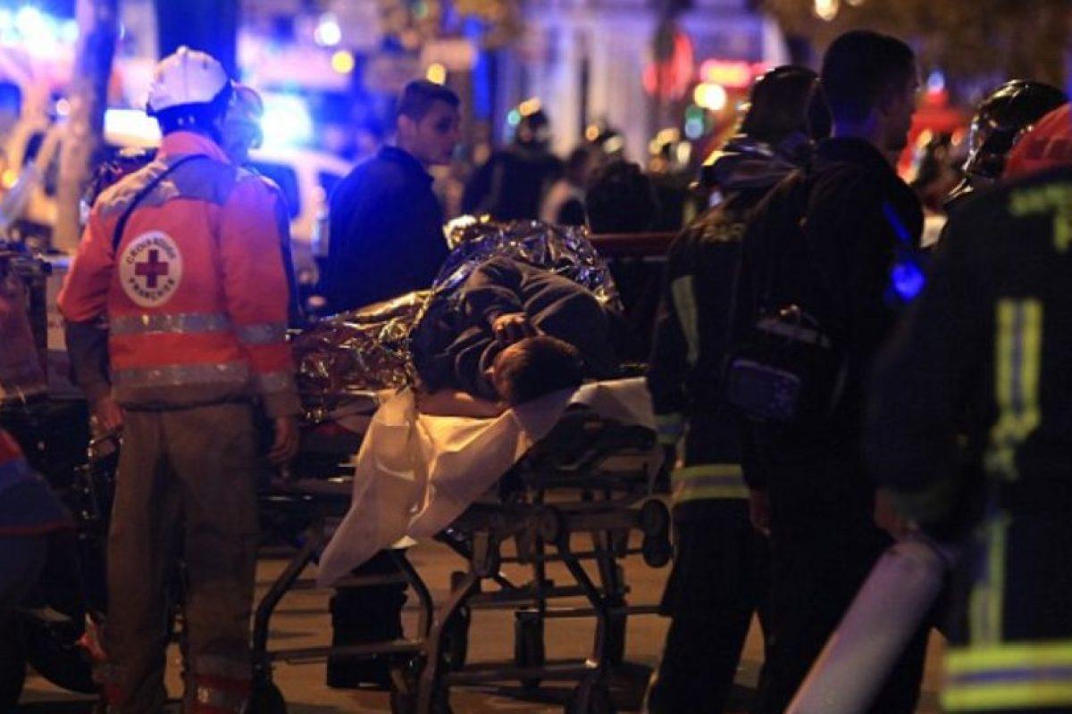 Los malheridos fueron trasladados a hospitales cercanos. Foto:AFP. Imagen Por: