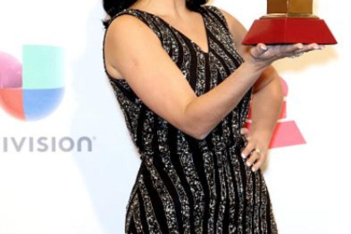 Fernanda Braum tiene un vestido sacado de una barata vintage. Foto:vía Getty Images. Imagen Por:
