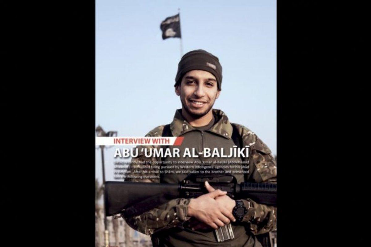 Abaaoud era uno de los principales sospechosos de planear los atentado terrorista en París Foto:AFP. Imagen Por: