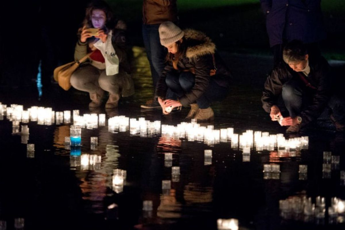 Las lagrimas, gritos, resos estuvieron presentes. Foto:AFP. Imagen Por:
