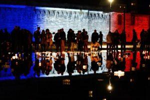 """Los ciudadanos franceses intentan evitar el miedo para así """"luchar"""" contra ISIS Foto:AFP. Imagen Por:"""