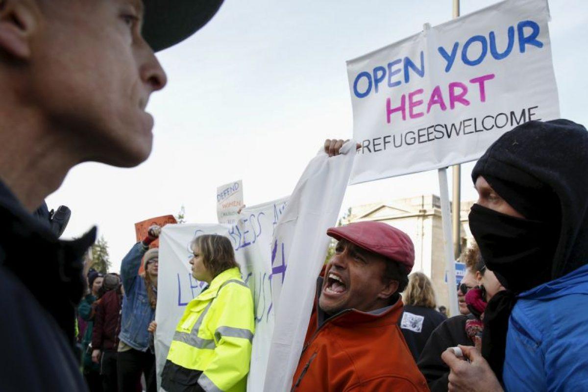 Por otra parte, no todo fue paz y calma. Foto:AFP. Imagen Por: