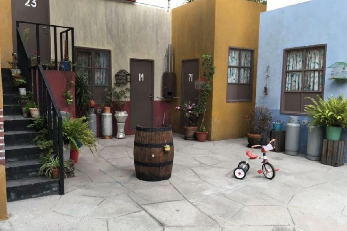1- El patio de la vecindad. Foto:Nicolás Corte. Imagen Por:
