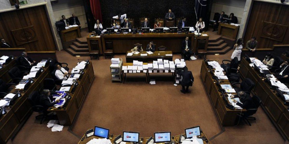 Tras nueve horas de discusión Senado aprobó Presupuesto 2016