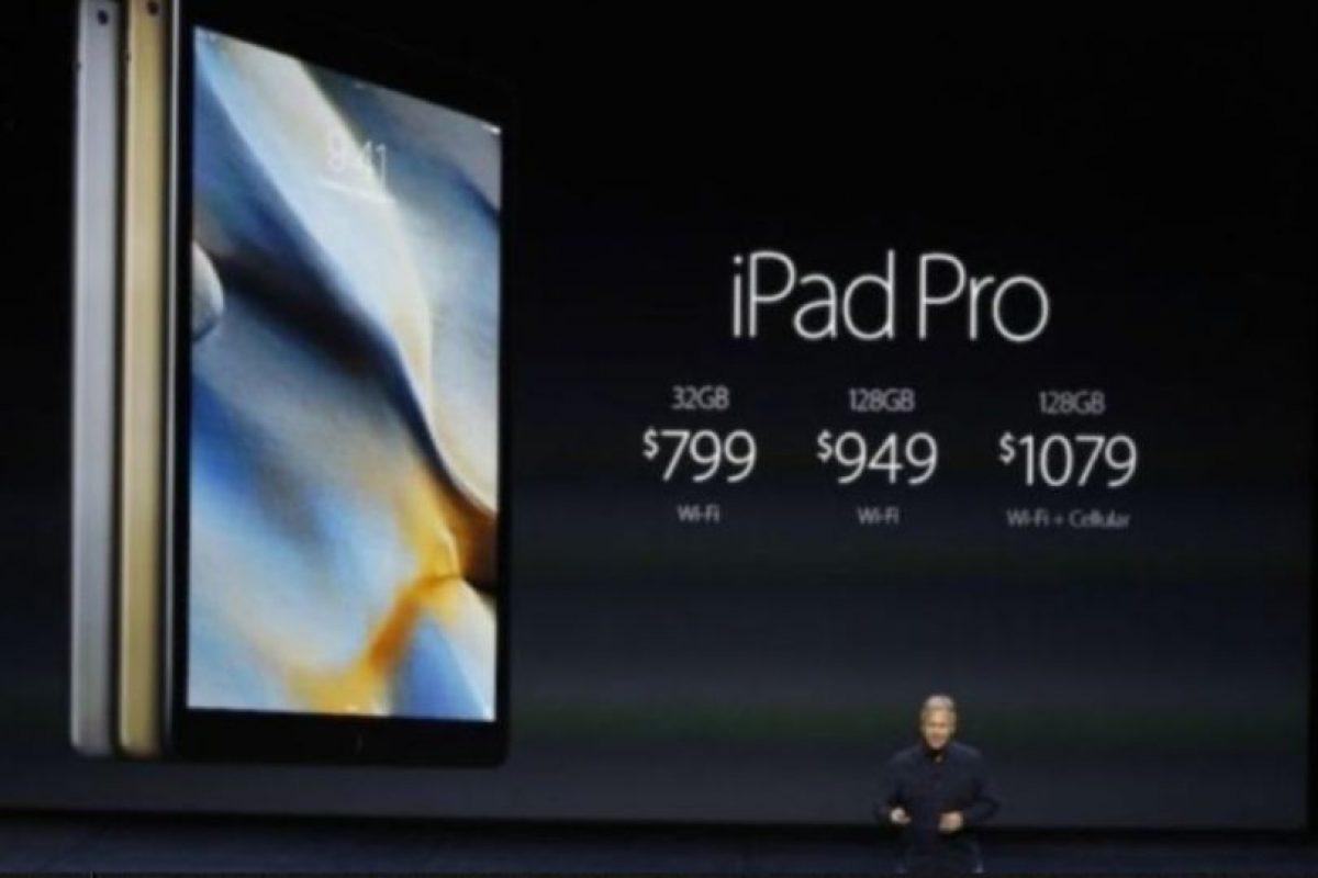 Precio: 799 dólares (32GB + Wi-Fi), 949 dólares (128GB + Wi-Fi) y mil 79 dólares (128GB + W-iFi). Foto:Getty Images. Imagen Por:
