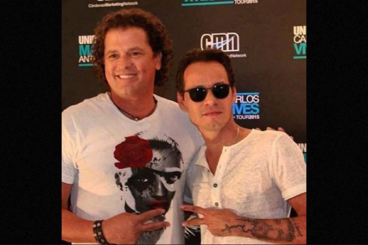 Carlos Vives y Marc Anthony Foto:Instagram/marcanthony. Imagen Por: