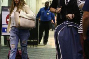Así fue su llegada a Miami Foto:Grosby Group. Imagen Por: