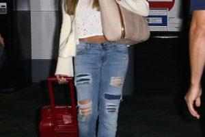 La pareja llegó a la ciudad de Miami para celebrar su enlace nupcial el próximo 22 de noviembre Foto:Grosby Group. Imagen Por: