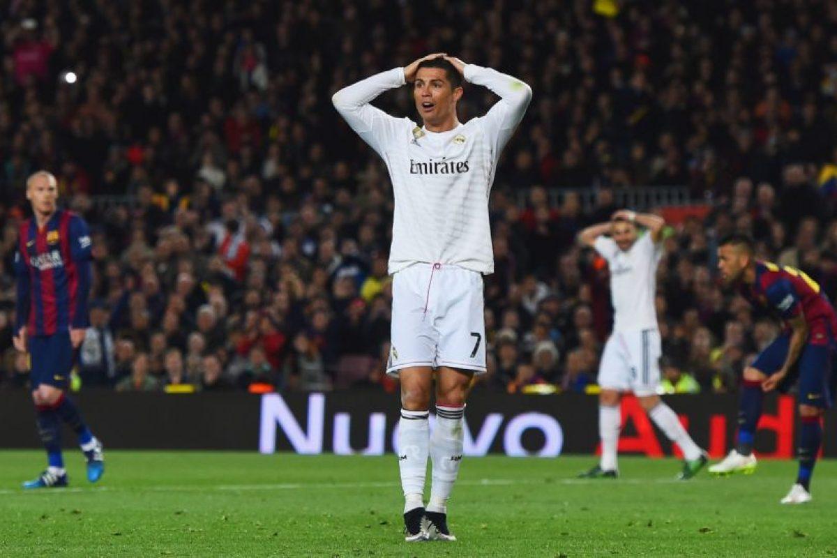 """8. Cristiano Ronaldo es el más seguido de los """"merengues"""" en las redes. Tiene 38.7 millones de """"followers"""" Foto:Getty Images. Imagen Por:"""