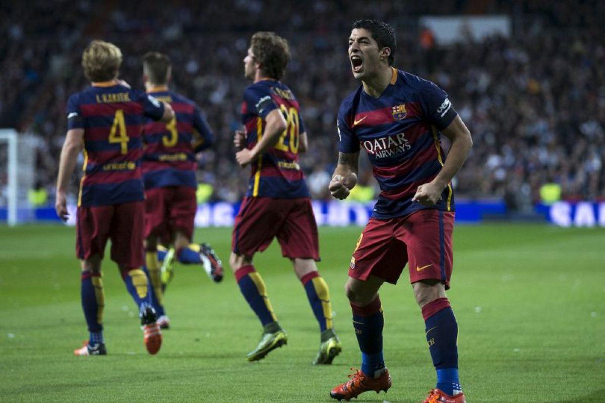 Luis Suárez marcó dos goles Foto:Getty Images. Imagen Por: