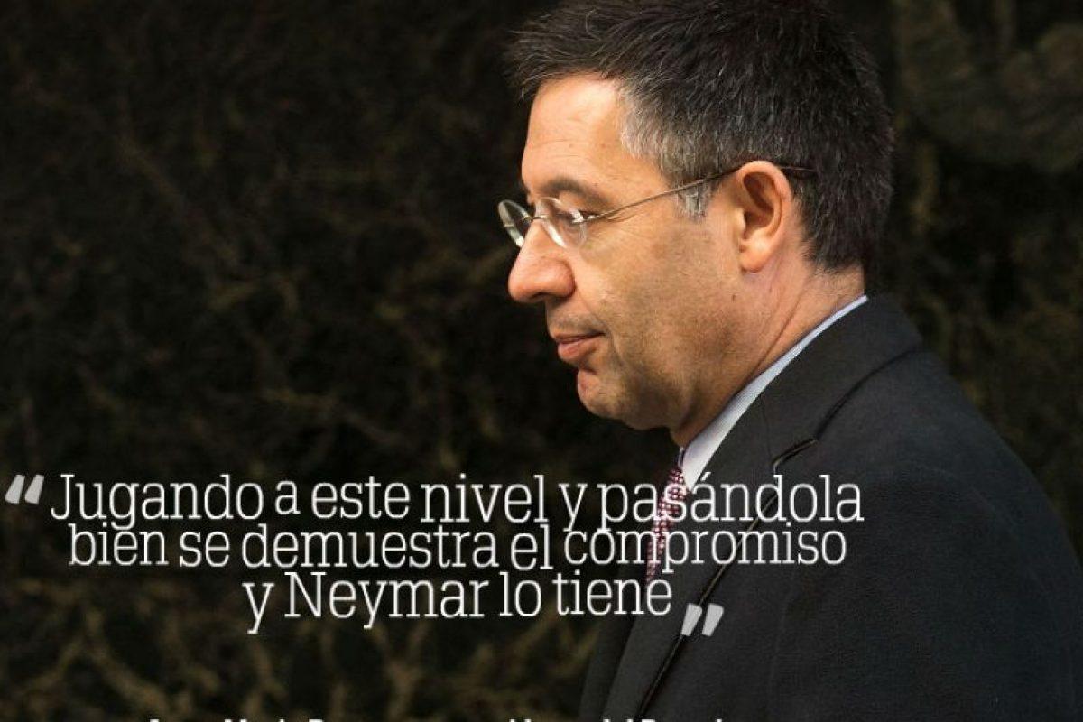 Josep Maria Bartomeu, presidente de Barcelona Foto:Getty Images. Imagen Por:
