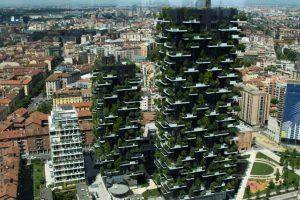 Así quedaron las torres del mismo concepto en Milán Foto:Vía lescedres.chavannes.ch. Imagen Por: