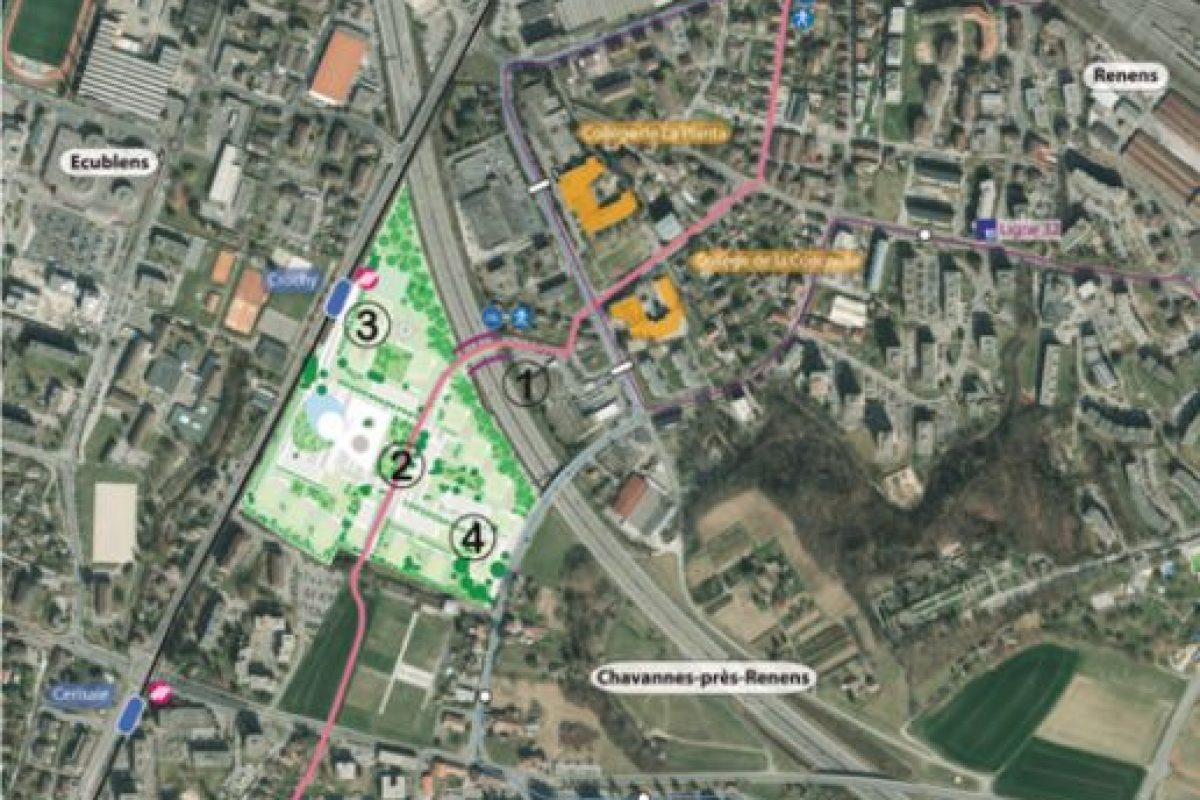 Esta será la ubicación de las nuevas instalaciones en Suiza Foto:Vía lescedres.chavannes.ch. Imagen Por: