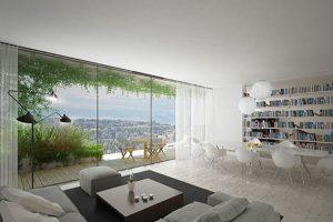 Algunos de los árboles cubriran parte de los departamentos. Foto:Vía lescedres.chavannes.ch. Imagen Por: