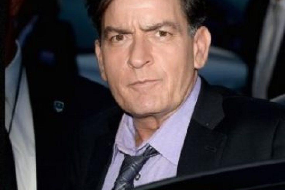 2. Charlie Sheen no tiene SIDA Foto:Getty Images. Imagen Por: