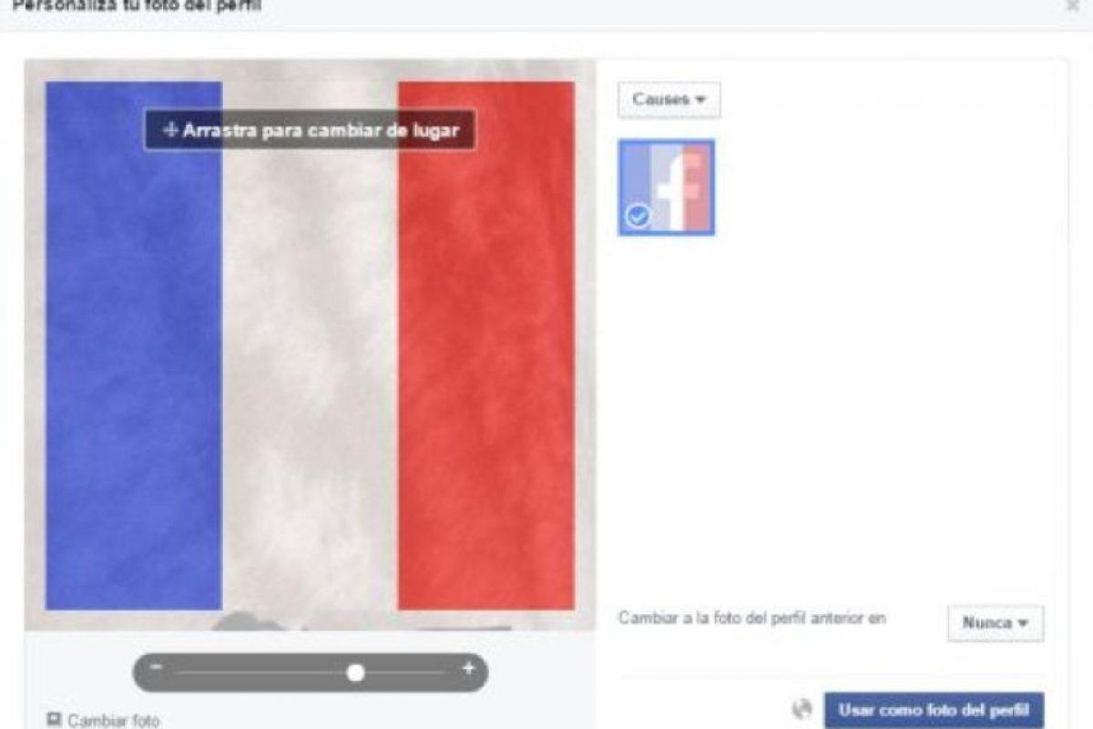 """""""No coloquen la bandera de Francia en su foto de perfil, les advierto que ISIS los encontrará a ustedes y a su familia y luego los matará"""". Foto:Vía Facebook. Imagen Por:"""