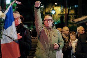 Así homenajean en el mundo a Francia, luego de los atentados. Foto:Getty Images. Imagen Por: