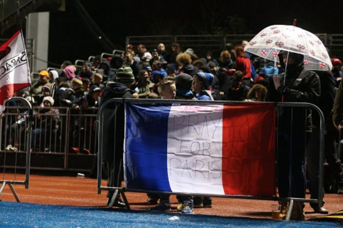 Durante el Campeonato Europeo de Rugby en Francia. Foto:Getty Images. Imagen Por: